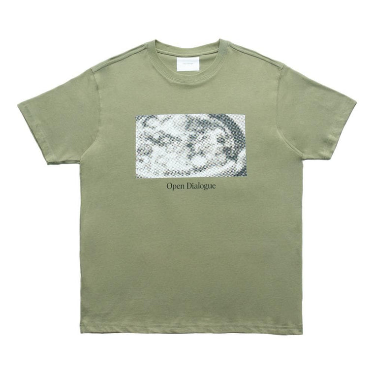 Open Dialogue THE DERICK TEE-GREEN