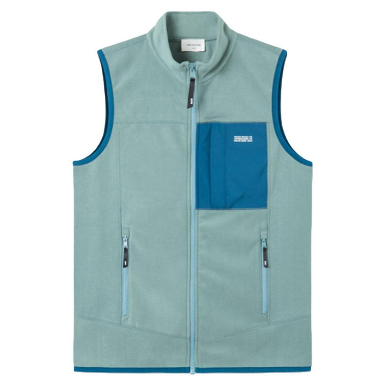 WOOD WOOD OLAF VEST -BLUE