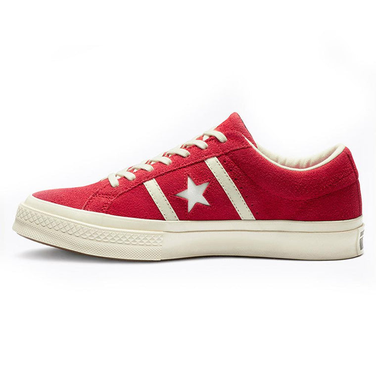CONVERSE ONE STAR ACADEMY OX -WHITE/RED