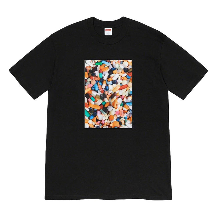 SUPREME PILLS TEE-BLACK