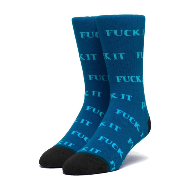 HUF FUCK IT SOCK-BLUE
