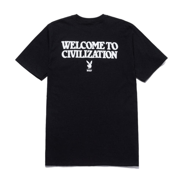 HUF PLAYBOY CLUB KEY S/S TEE-BLACK