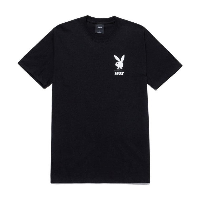 HUF PLAYBOY OCTOBER 1971 S/S TEE-BLACK