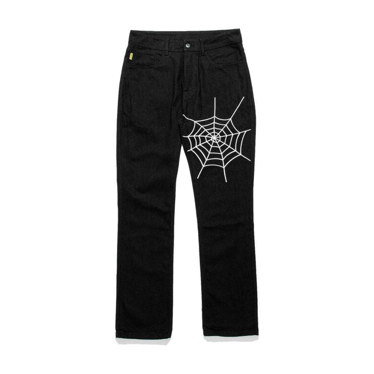 PLEASURES DOZER DENIM PANT-BLACK