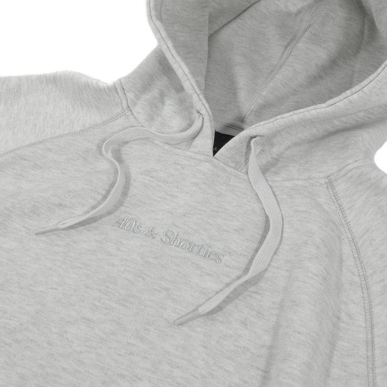 40'S AND SHORTIES PREMIUM HOODIE -GREY