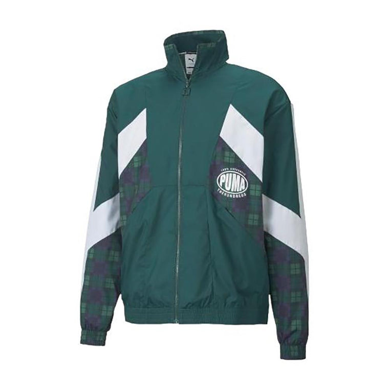 PUMA PUMA X TH TRACK JACKET -DARK GREEN