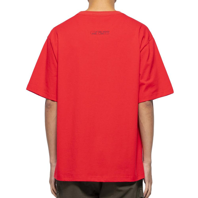 CLOT TEE RACING SS TEE -RED