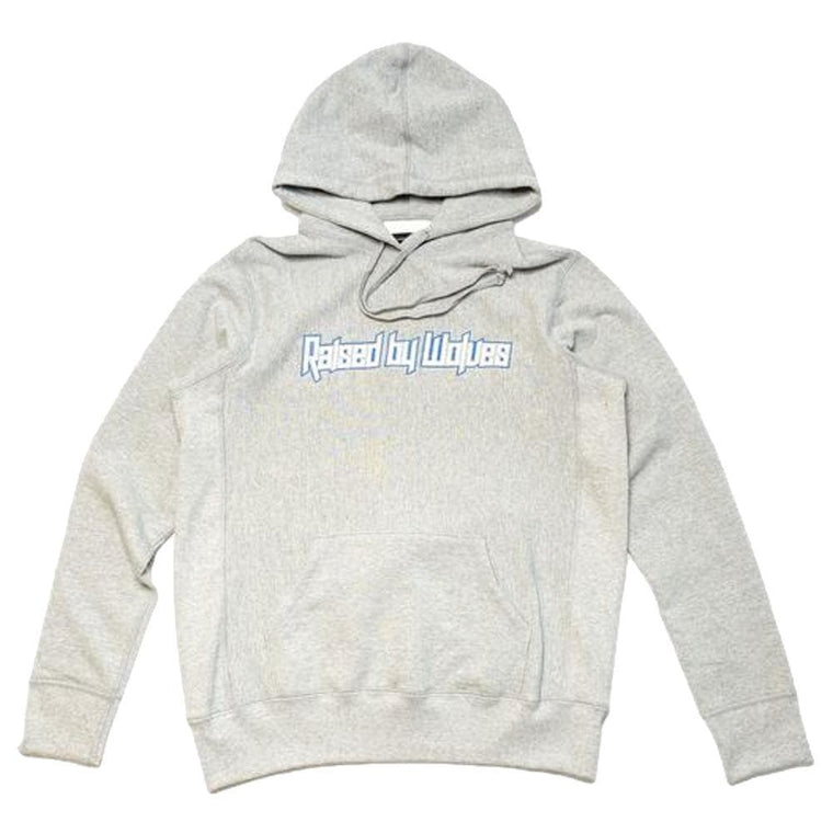 RAISED BY WOLVES BRUTALIST HOODED SW -GREY