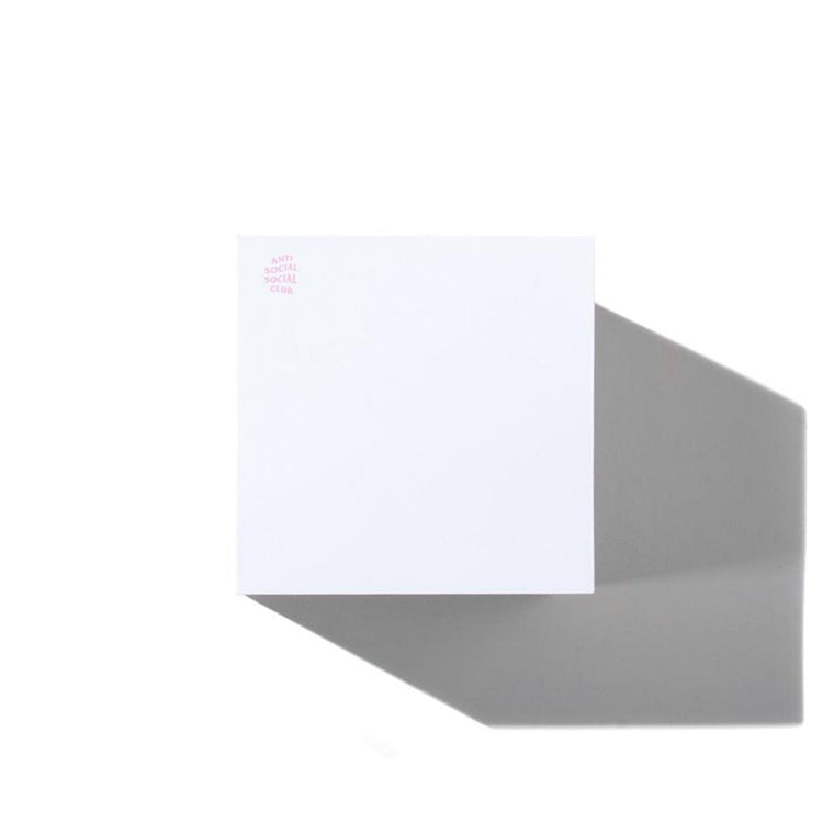 AntiSocialSocialClub REMINDER STICKY NOTES -PINK