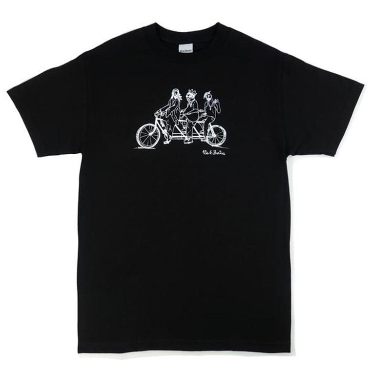 40'S AND SHORTIES RIDE OR DIE TEE -BLACK