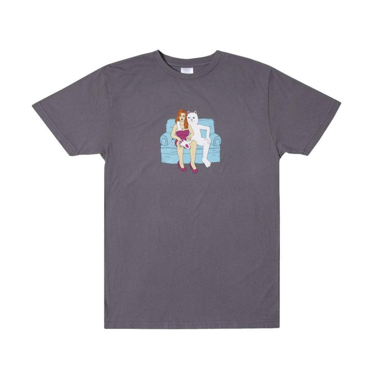 RipNDip INSIDE ACTIVITIES TEE -GREY