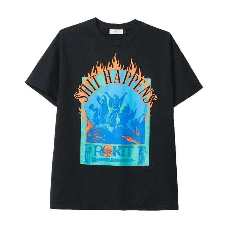 Rokit ROCK & SUN TEE -BLACK