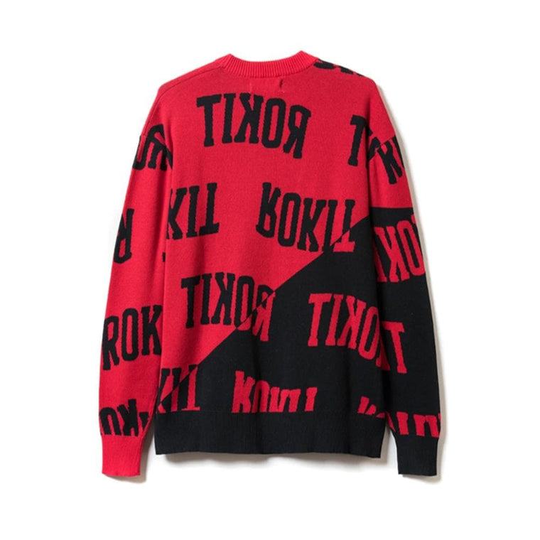 Rokit NBIG SWEATER -RED