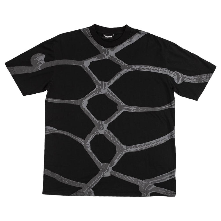 PLEASURES ROPES SS T-SHIRT -BLACK