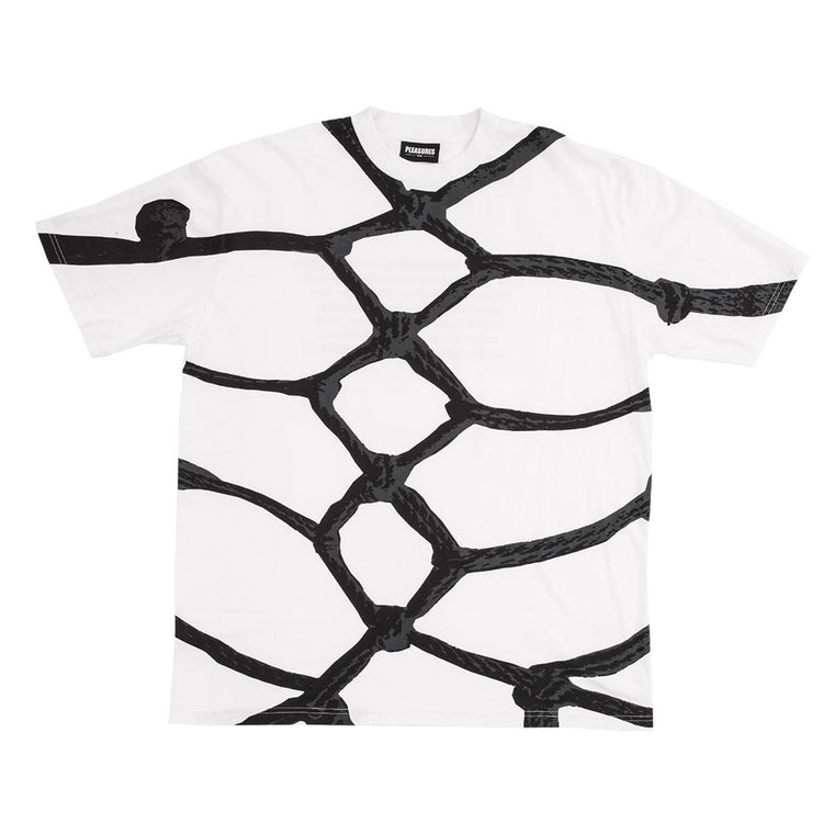 PLEASURES ROPES SS T-SHIRT -WHITE