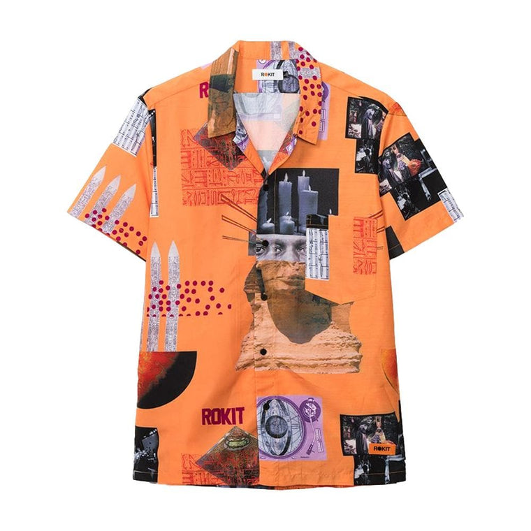 Rokit SATURN SHIRT -ORANGE