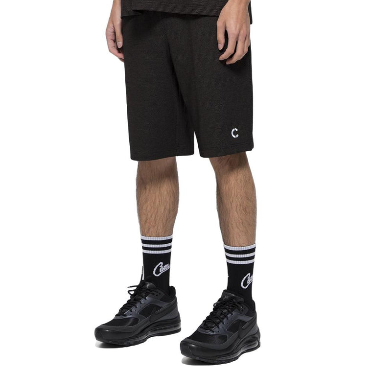 CLOT TEE SCRIPT SWEAT SHORTS -BLACK
