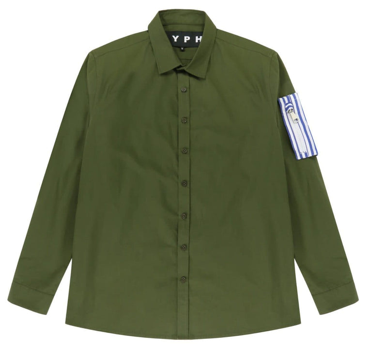 LYPH SETMER SHIRT -GREEN
