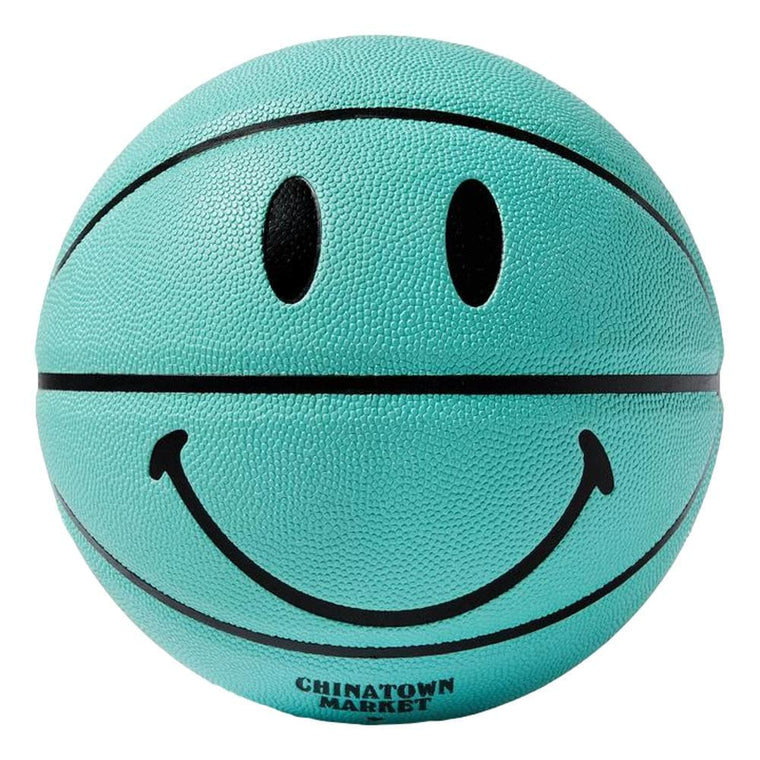 CHINA TOWN MARKET SMILEY BREAKFAST BASKETBALL-BLUE