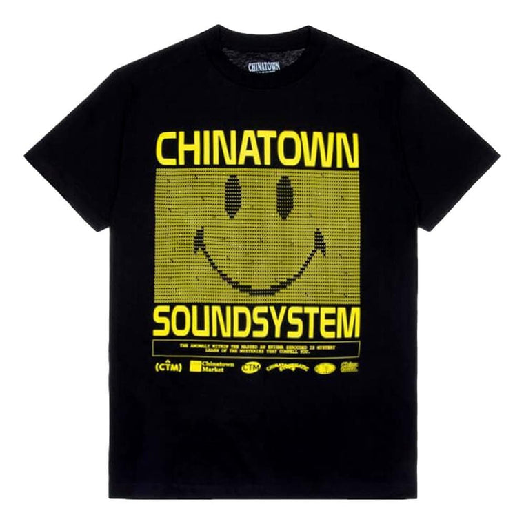 CHINA TOWN MARKET SOUND SYSTEM TEE -BLACK