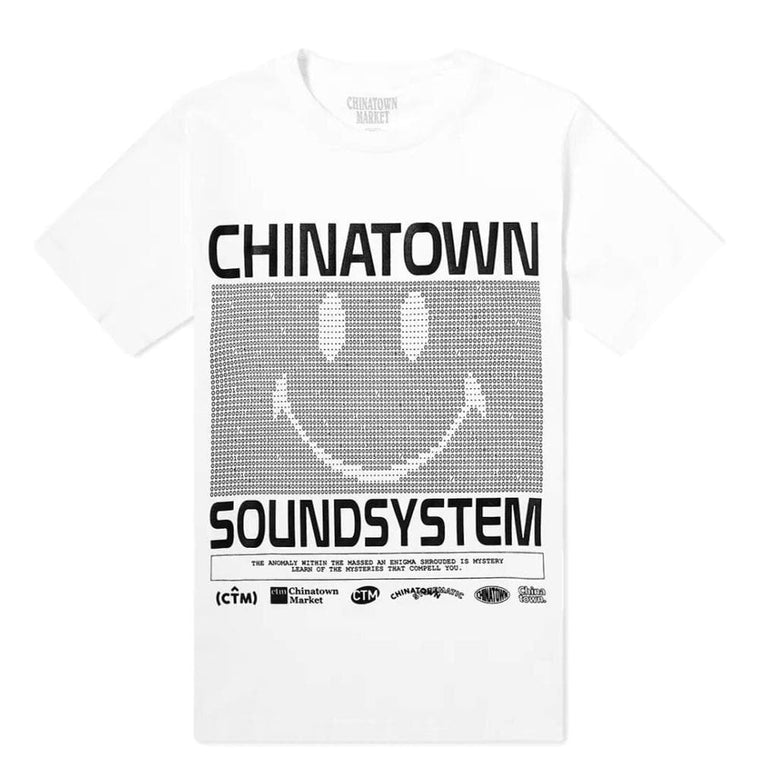 CHINA TOWN MARKET SOUND SYSTEM TEE -WHITE