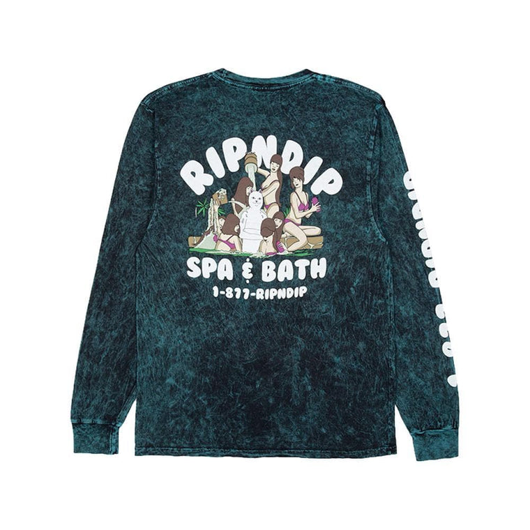 RipNDip SPA DAY LS -DARK GREEN