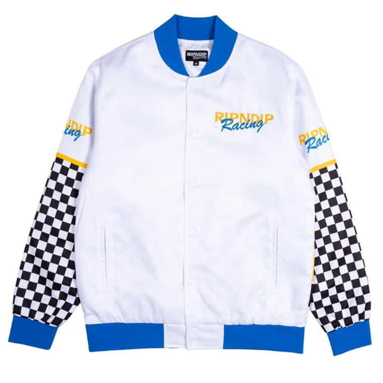 RipNDip SPEED RAC POLY VARSITY JK -WHITE