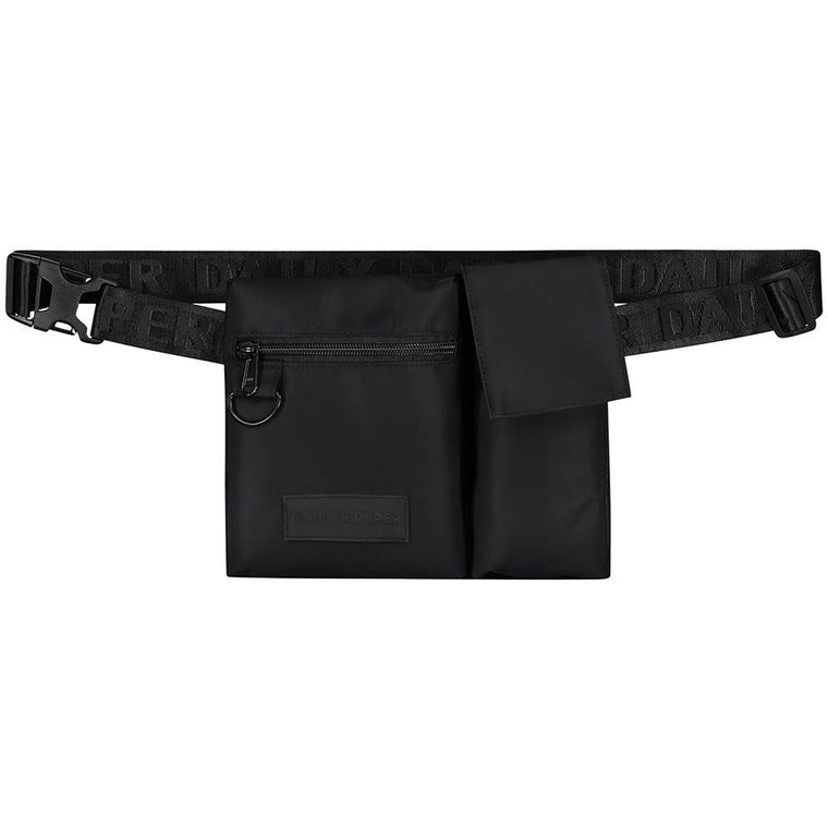 DAILY PAPER HAREC WAISTBAG -BLACK