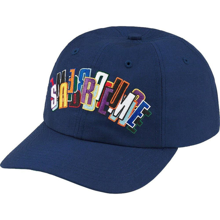 SUPREME STACKED CORDURA 6-PANEL-NAVY