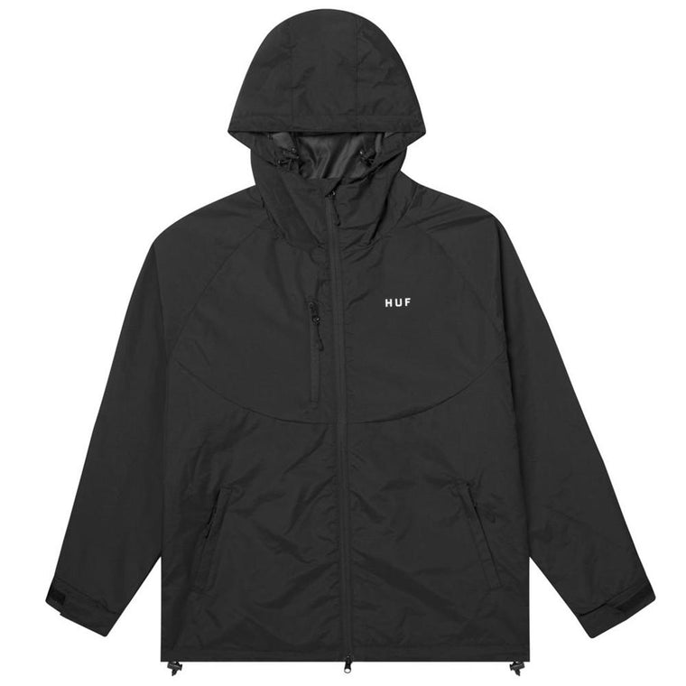 HUF STANDARD SHELL 2 JACKET -BLACK