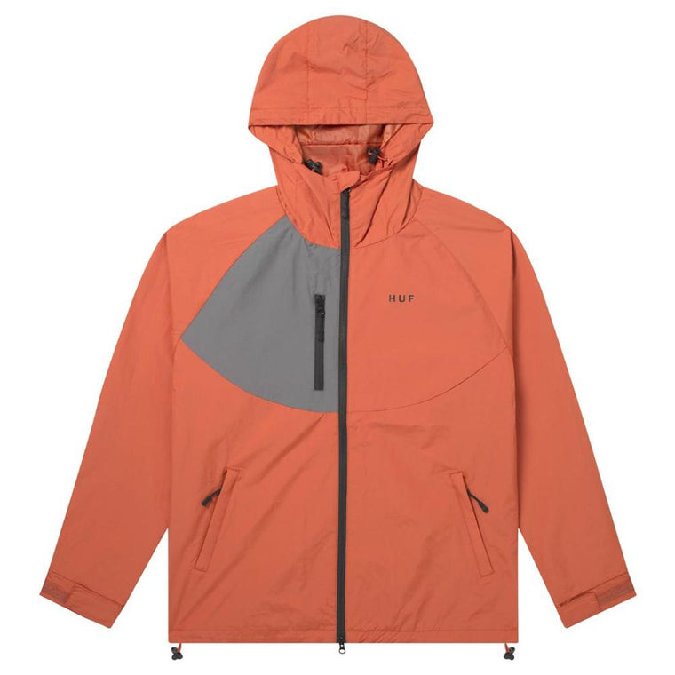 HUF STANDARD SHELL 2 JACKET -RUST