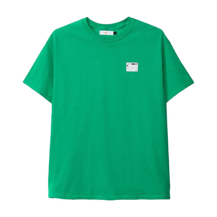 Rokit STUDENTS UNION TEE -GREEN