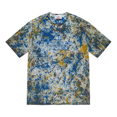 SUPREME STONE ISLAND S/S TOP-NAVY