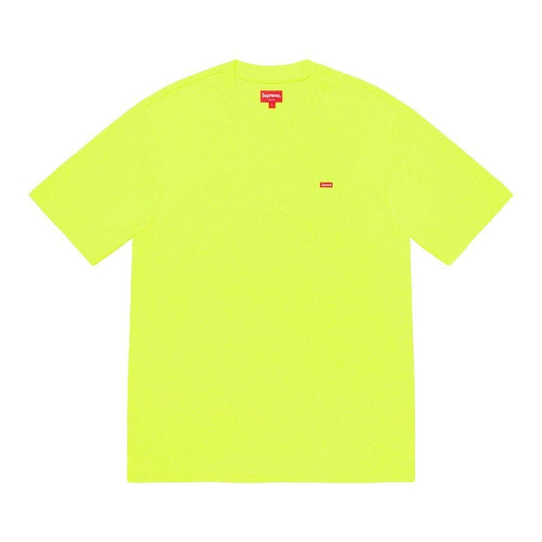 SUPREME SMALL BOX TEE-NEON
