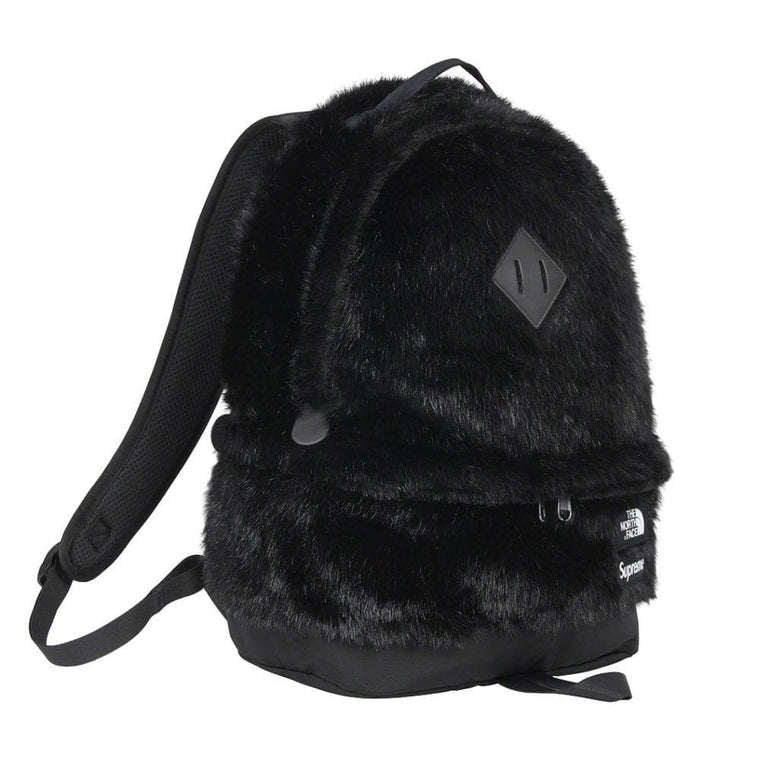 SUPREME THE NORTH FACE? FAUX FUR BACKPACK-BLACK