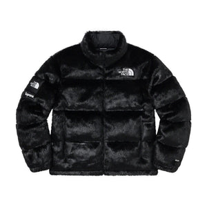 SUPREME THE NORTH FACE? FAUX FUR NUPTSE JACKET-BLACK
