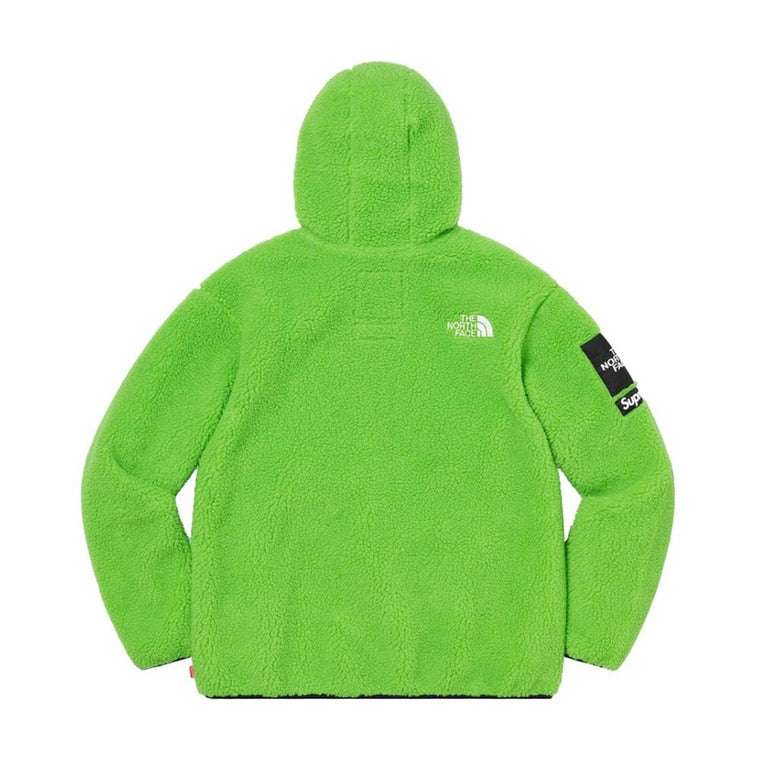 SUPREME THE NORTH FACE? S LOGO HOODED FLEECE JACKET-GREEN