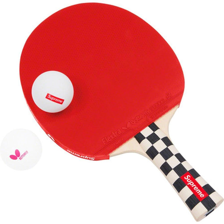SUPREME TABLE TENNIS RACKET SET -RED
