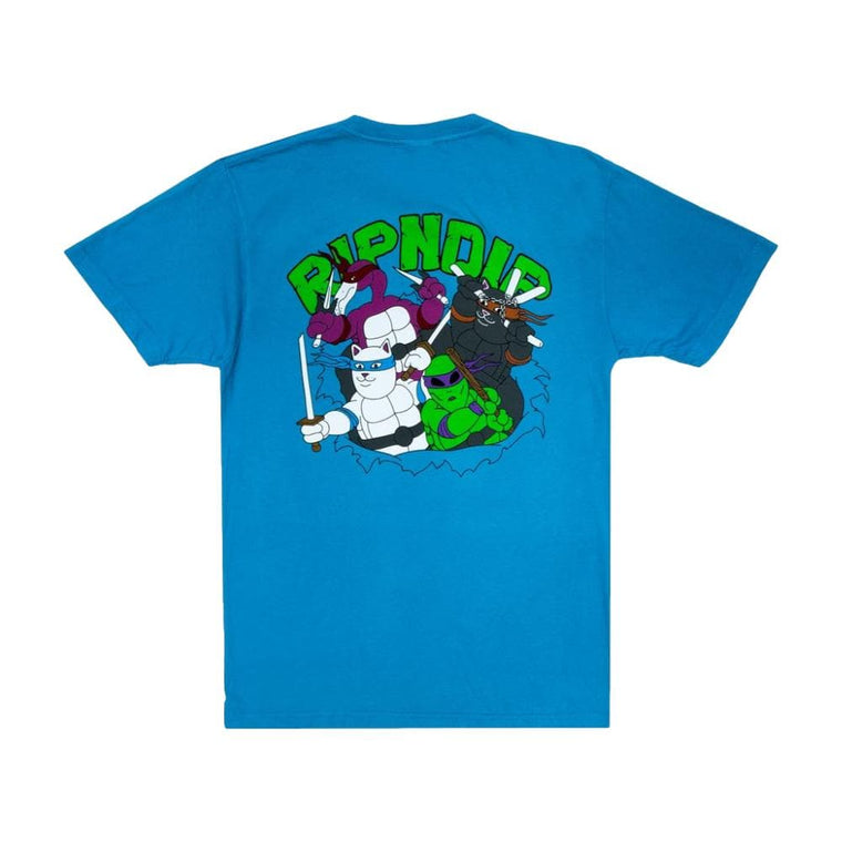 RipNDip TEENAGE MUTANT TEE-BLUE