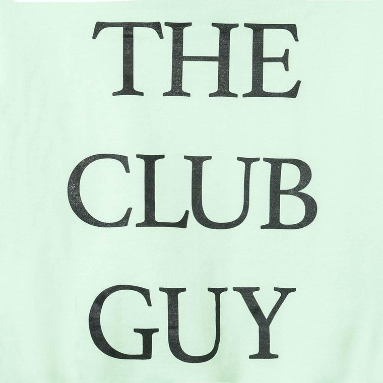 AntiSocialSocialClub THE CLUB GUY GREEN HOODIE -GREEN
