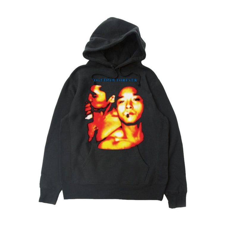 RAW EMOTIONS TOGETHER FOREVER HOODIE-BLACK