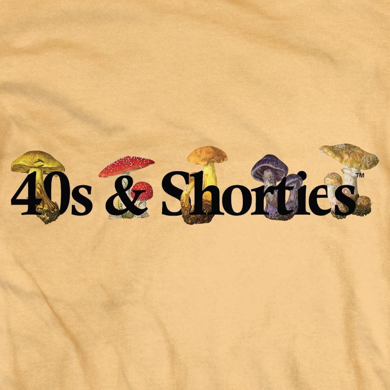 40'S AND SHORTIES TRIPPY TEE -YELLOW