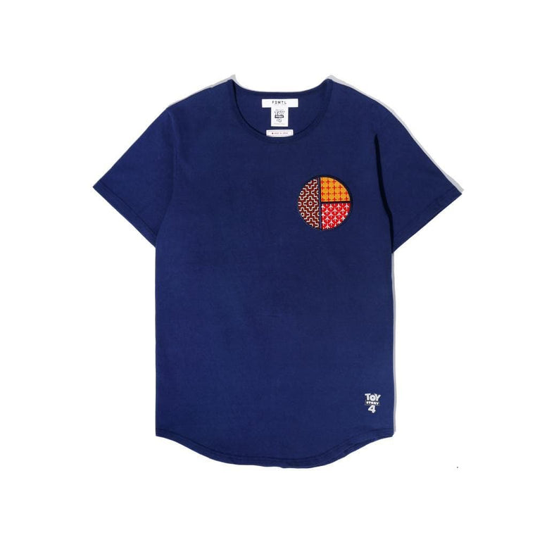 FUNDAMENTAL TOY STORY WOODY TEE -NAVY