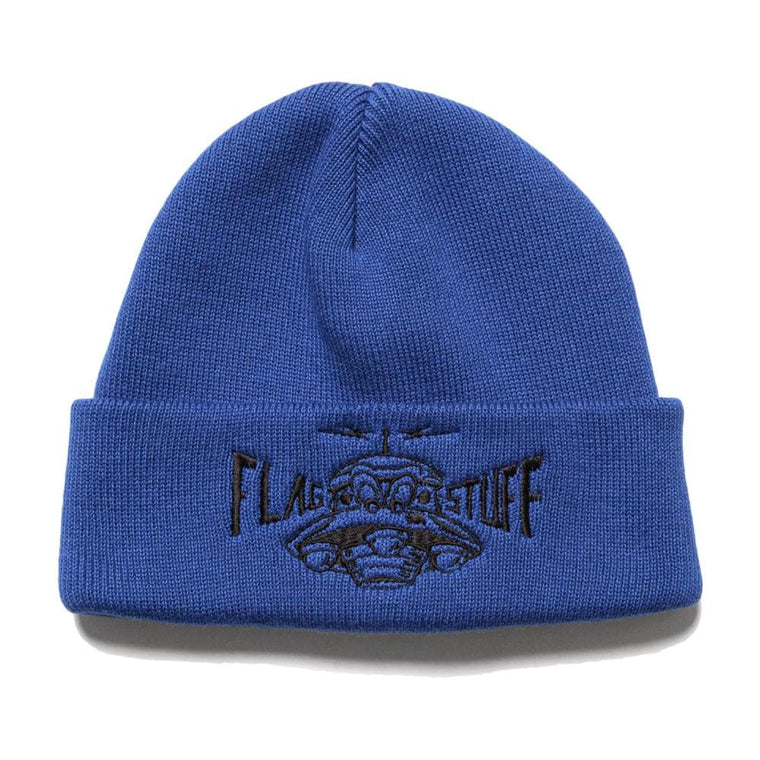 Flagstuff UFO KNIT CAP-BLUE