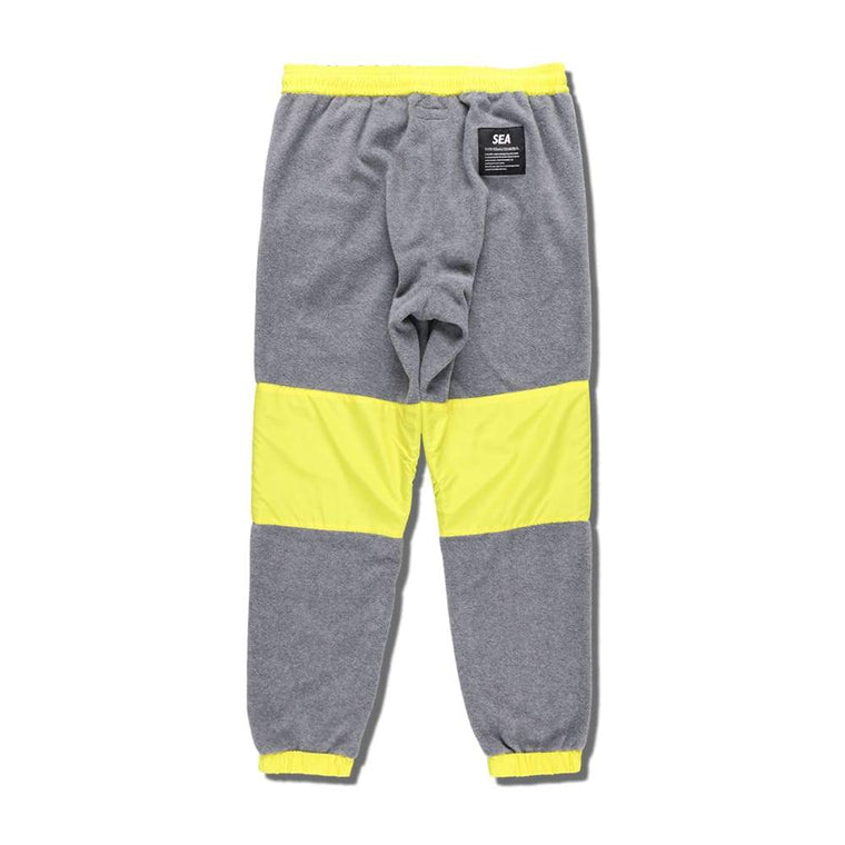 WIND AND SEA WDS SWITCH FLEECE PANTS -GREY