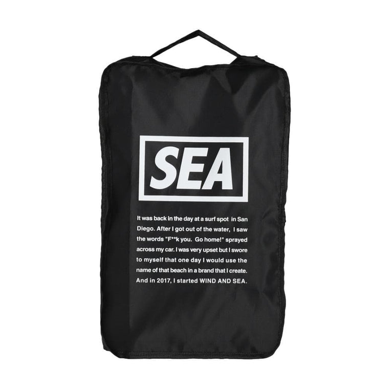 WIND AND SEA WDS TRAVEL POUCH MEDIUM-BLACK
