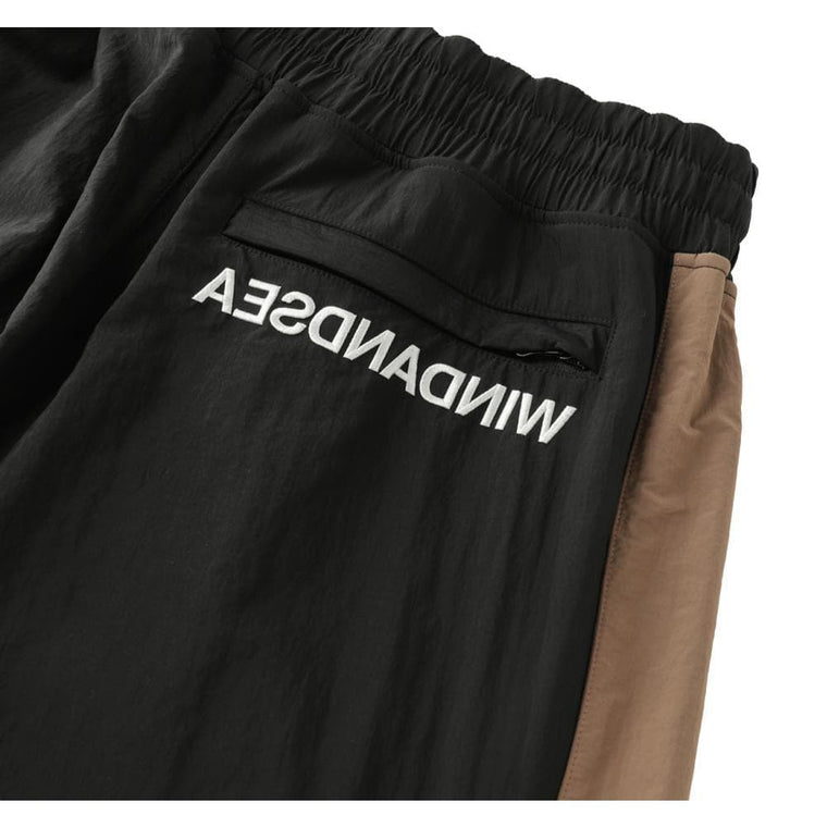 WIND AND SEA WDS SWEAT TRUCK PANTS-BLACK