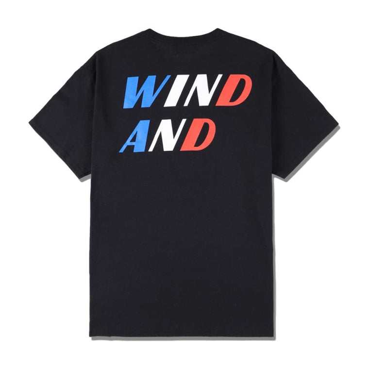 "WIND AND SEA SEA""TRICOLOR""TEE -BLK (BK-WH-RD)"