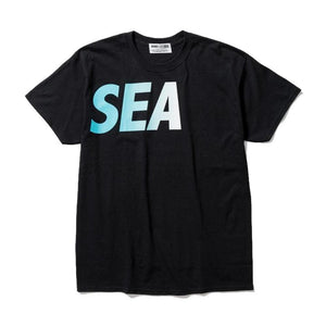 WIND AND SEA TEE STYLE 1-BLACK