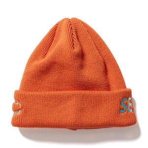 WIND AND SEA WATCH CAP-ORANGE